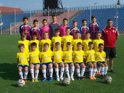 Echipa de 2005 de la FC Bihor a participat la turneul internaţional de la Timişoara, intitulat 'Leoparzii lui Moş Crăciun'