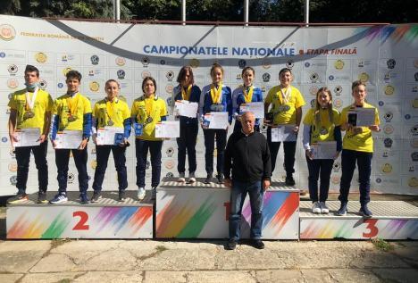 Juniorii de la CSU Oradea s-au întors cu 34 de medalii de la Campionatele Naţionale de tir sportiv cu arme de foc de la Bucureşti