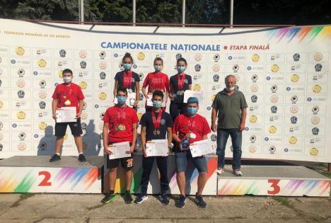 Rezultate excelente la juniori pentru sportivii de la CSU Oradea, la Naţionalele de tir sportiv: 19 medalii!