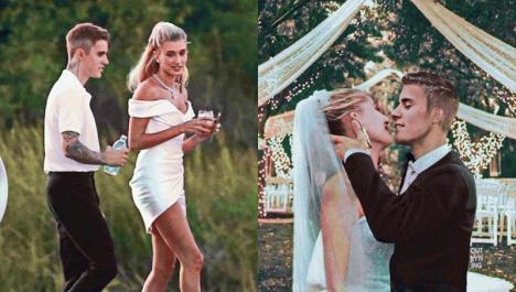 Cântărețul Justin Bieber s-a căsătorit religios cu modelul Hailey Baldwin. Ce vedete au fost la cununie (FOTO)