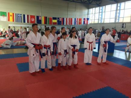 Karateka de la Palatul Copiilor, printre protagoniștii Open-ul Bihorului - Turneul Campionilor (FOTO)