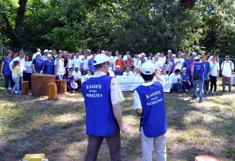 Kaizenul strică zenul: Șefii din Primăria Oradea au chiulit de la lecțiile de Kaizen, la care i-a programat Bolojan