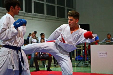Cupa Memorială Sándor Péter de la Salonta: competiția de karate va aduna peste 450 de sportivi