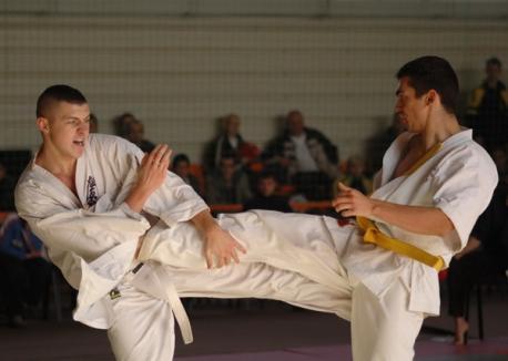 Karateka orădeni, învingători la Cluj