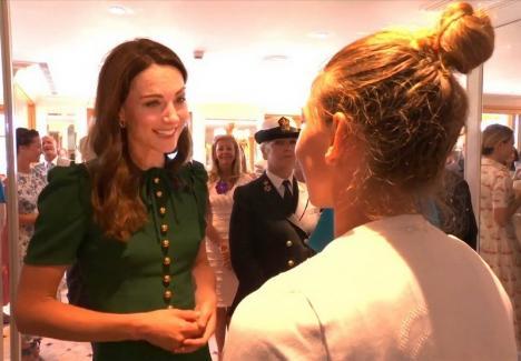 Ducesa de Cambridge a felicitat-o pe Simona Halep: 'Ai făcut un meci incredibil' (VIDEO)