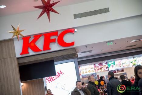 S-a deschis KFC la ERA Park Oradea! Localul va funcţiona şi în a doua zi de Crăciun şi Anul Nou (FOTO)