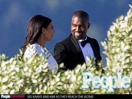 Kim Kardashian şi Kanye West s-au căsătorit într-o ceremonie extravagantă în Florenţa