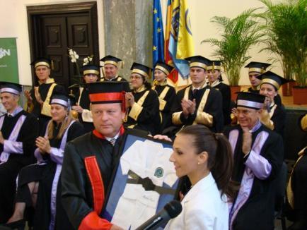 Marius Vizer, Doctor Honoris Causa al UNEFS (FOTO)