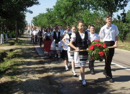 Localnicii din Palota se pregătesc de sărbătoarea 'Kirchweih'