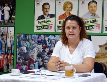 Consilierul local Kirei Melinda acuză: 'Primăria Oradea foloseşte banii publici la secret!'