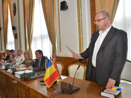Kis Gabor Ferenc a depus jurământul în funcţia de consilier local al UDMR