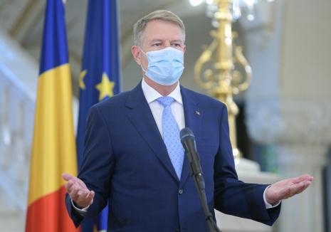 Ce spune Klaus Iohannis despre o posibilă revenire la starea de urgență în lupta anti-Covid (VIDEO)