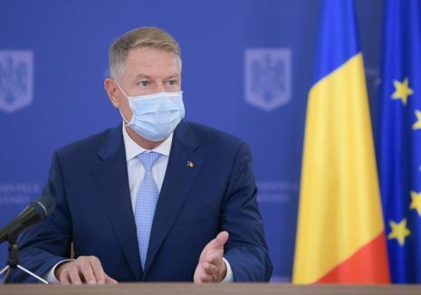 Iohannis face un apel la români să poarte mască. Ce spune despre vaccinul anti-Covid asumat de ruși (VIDEO)