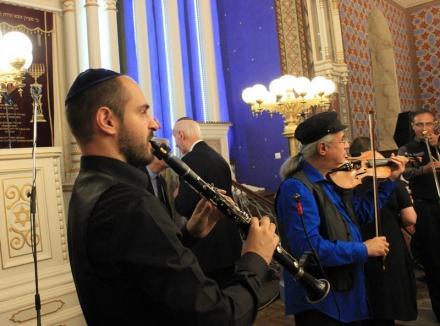 Concert Hakeshet Klezmer Band la Sinagoga Zion