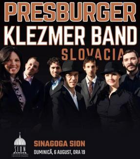 O formaţie klezmer din Slovacia va cânta la Sinagoga Zion