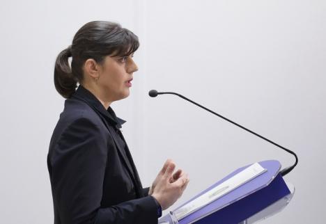 Laura Codruţa Kovesi, după revocare: 'Corupţia poate fi învinsă. Nu abandonaţi!'