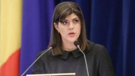 Laura Codruţa Kovesi a atacat la Curtea Europeană a Drepturilor Omului decizia CCR prin care a fost revocată din funcţia de şef al DNA