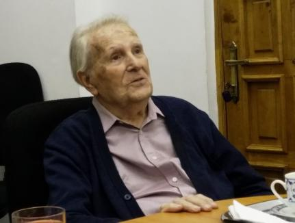 Un supravieţuitor al Holocaustului, deportat din Oradea la Auschwitz, dirijează la Filarmonică