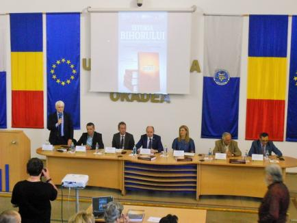'Istoria Bihorului' a fost lansată în Aula Magna a Universităţii din Oradea (FOTO)