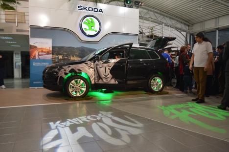 Magician, chef, prichindei: Noul SUV Skoda Karoq, lansat în stil mare la Autogrand Oradea (FOTO)