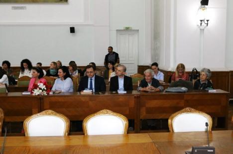 Teza de doctorat a lui Zaharia Macovei, lansată la Oradea (FOTO)