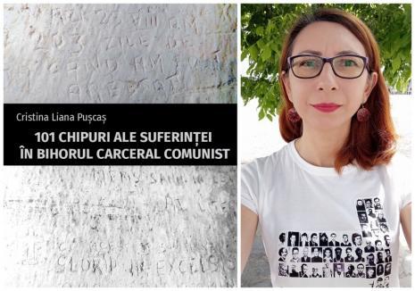 """Lansare de carte: """"101 chipuri ale suferinţei în Bihorul carceral comunist"""", de orădeanca Cristina Puşcaş"""