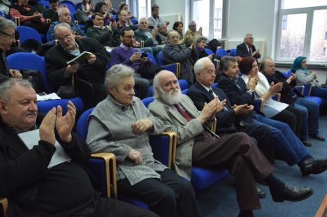"""Grupul """"Ştefan Popescu"""": Profesorul Antonio Faur a lansat o carte despre primul grup de rezistenţa armată anticomunistă din Bihor"""