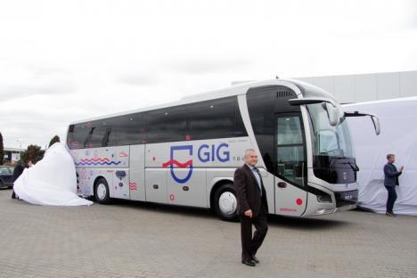 Compania GIG a lansat noul autocar MAN (FOTO)