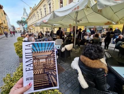 'Coloana sonoră a cărţilor'. Noul număr al revistei Familia a fost lansat la terasă(FOTO / VIDEO)