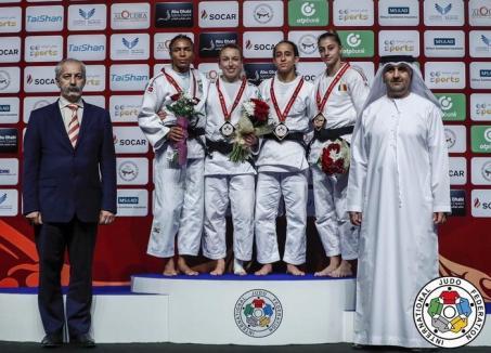 Larisa Florian a cucerit bronzul la Grand Slam-ul de la Abu Dhabi