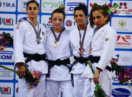 Larisa Florian, din nou vicecampioană europeană la U23