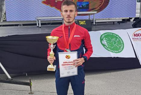 Şase clasări pe podium pentru sportivii orădeni la etapa a II-a a Campionatul Național de Atletism în sală