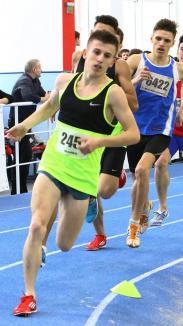 Argint şi bronz pentru Laviniu Chiş la întrecerile Campionatului Naţional de atletism pentru juniori I