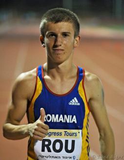 Laviniu Chiş aleargă la Campionatul European de Atletism din Finlanda