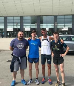 Orădeanul Laviniu Chiș a devenit campion național de tineret la semimaraton
