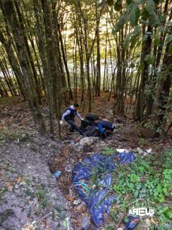 Curăţenie generală: Voluntari din tot Bihorul au adunat gunoaiele aruncate de alţii (FOTO)