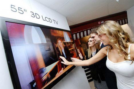 Primul televizor 3D lansat în România