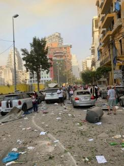 """""""E ca într-un film de groază"""": Mărturia unei orădence care locuieşte în Liban, după exploziile care au distrus capitala ţării"""
