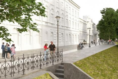 Transformarea străzii Libertăţii din Oradea în arteră pietonală ar putea începe de anul acesta. Cum va arăta zona (FOTO)
