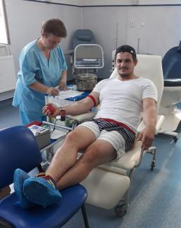 Judoka de la CSM Liberty au donat sânge! (FOTO)
