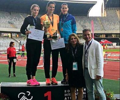 Ligia Bara a câștigat proba de săritură în înălțime de la Campionatele Internaționale de Atletism ale României