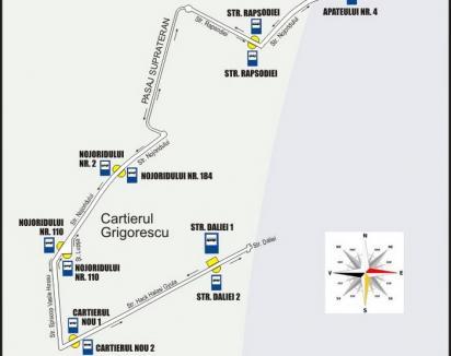 Linia 25 de autobuz va fi prelungită cu cinci staţii