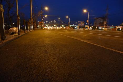 Constructorii au finalizat amenajarea liniei de tramvai de pe podul din Calea Aradului (FOTO)