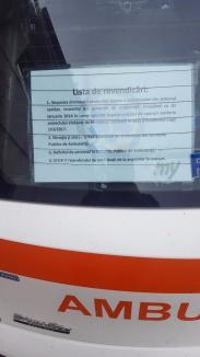 Protest la Ambulanţă: Pacienţii nu sunt afectaţi