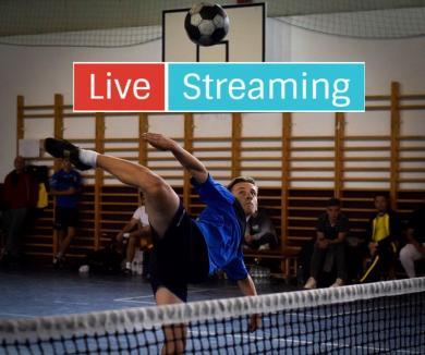Campionatul Național de tenis cu piciorul: Competiția din Salonta va fi transmisă live