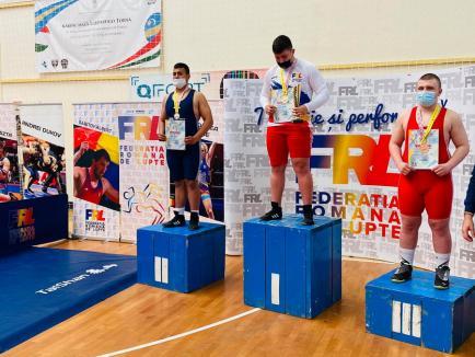 Două medalii pentru tinerii luptători de la LPS Bihorul la Cupa României U15 (FOTO)