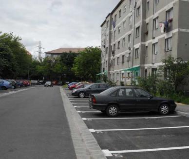 400 de noi locuri de parcare în zona Aleea Călinului