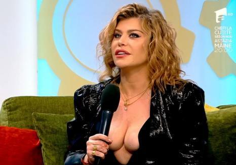 Loredana, cu sânii la vedere la TV. Emisiunea matinală a fost reclamată la CNA (VIDEO)