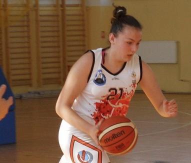 Încă o sportivă de la BCU Oradea convocată la lotul naţional de baschet feminin U17