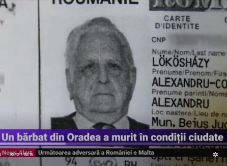 Ipoteză scandaloasă: Bătrânul Alexandru Lökösházy, un celebru expert auto din Oradea, ucis pentru a fi jefuit de avere!